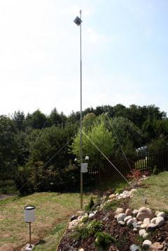 the mast for meteorological station -  8 meters