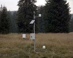 Extension of meteorological station about special sensors