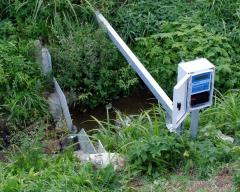 Water level and flow monitoring on small water-courses